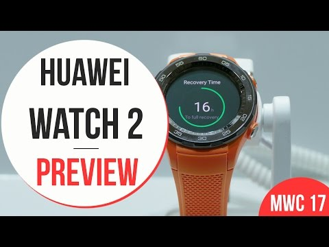 Huawei Watch 2 Anteprima | MWC 2017