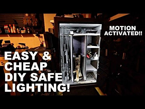 Easy & Cheap DIY Safe Lighting! Motion Activated