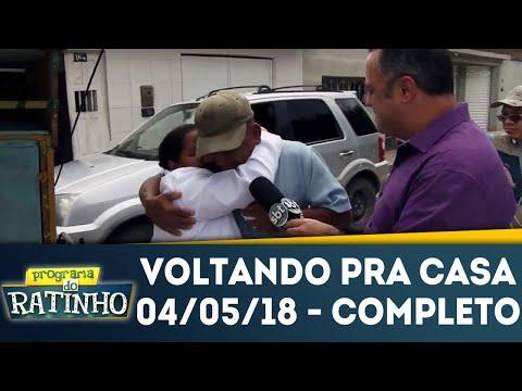 Votlando Pra Casa | Programa Do Ratinho (04/05/18)
