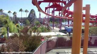 Kong (HD POV) Six Flags Discovery Kingdom California