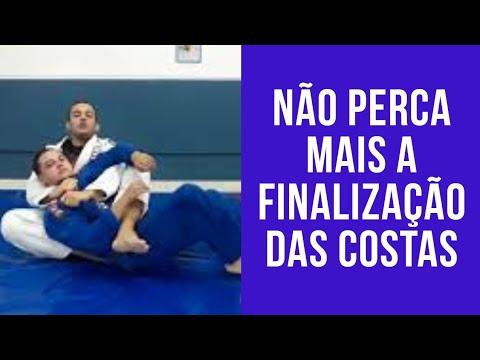 Não perca mais as finalização das costas I jiu-jitsu