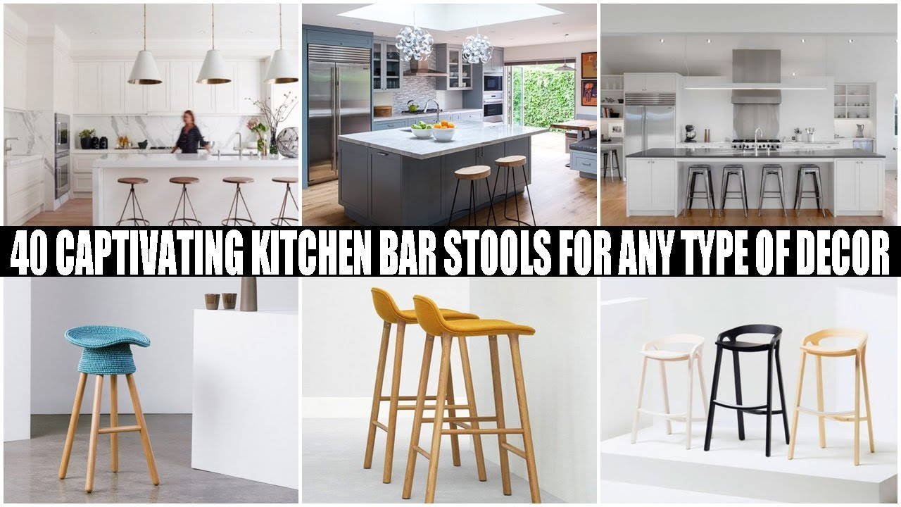 Kitchen Bar Stools On Sale 40 Captivating Kitchen Bar Stools For Any Type Of Decor