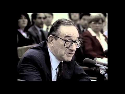 1987 Alan Greenspan, Chairman of the Fed