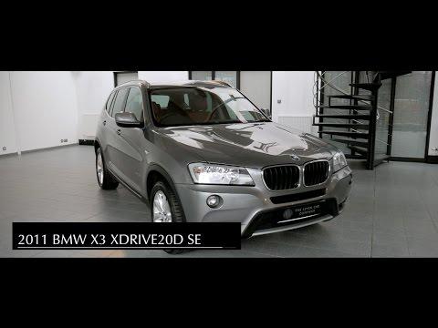 2011 BMW X3 Xdrive 20D SE - YouTube