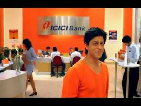 Shah Rukh Khan Advertising for ICICI Bank