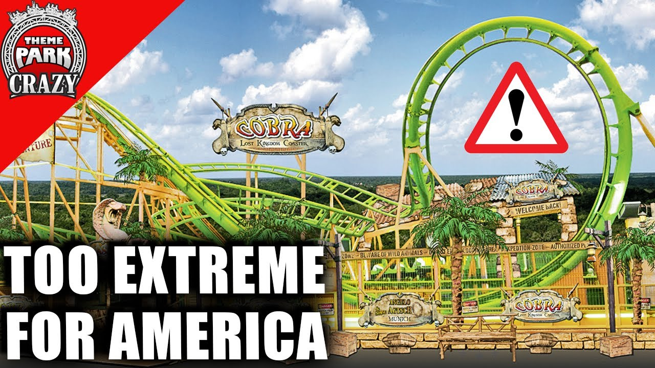 "A Roller Coaster ""TOO DANGEROUS"" for America? - The Wild Wind Story"