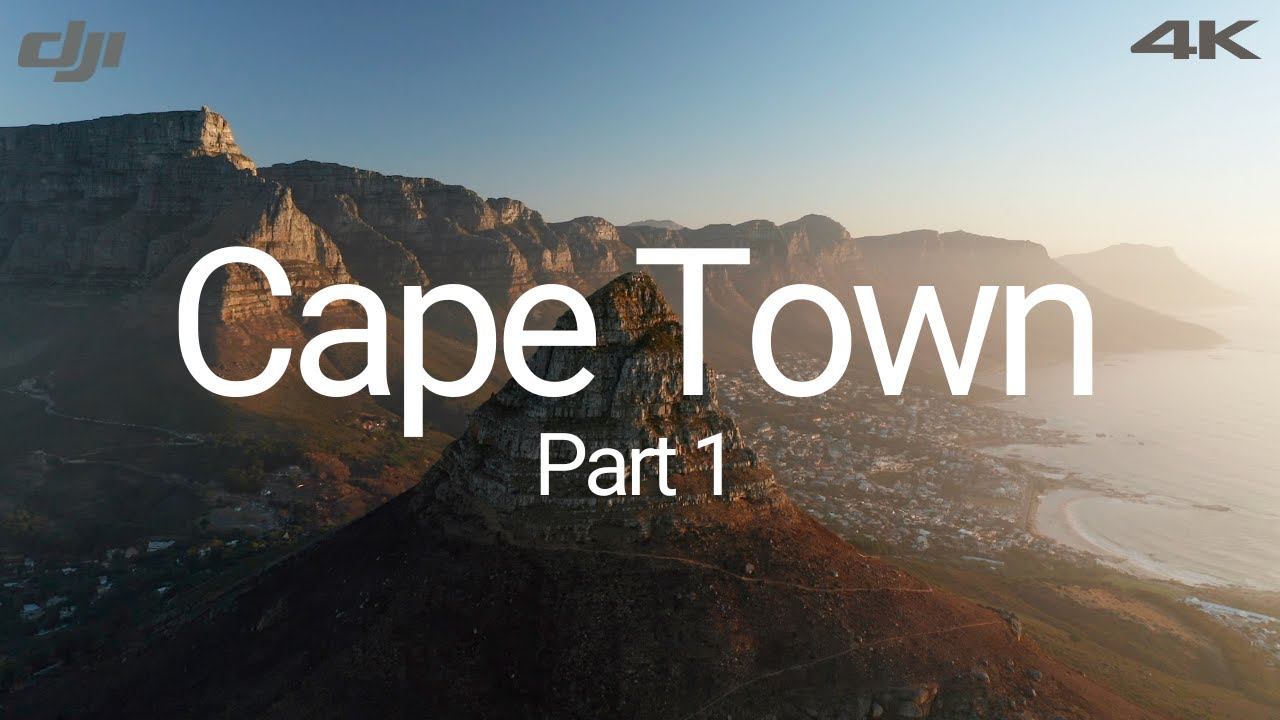 Cape Town by drone in 4K - Mavic 2 Pro