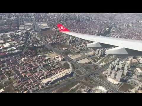 İstanbul Yeni Havalimanı'na İniş