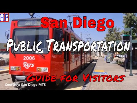 San Diego | Public Transportation | Tourist Information | Episode# 2