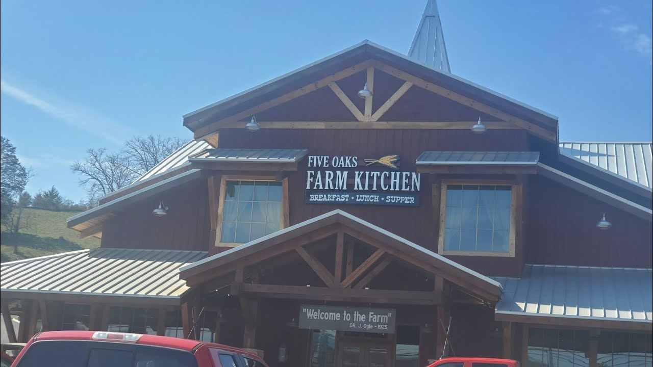 Five Oaks Farm Kitchen Sevierville Tennessee Youtube