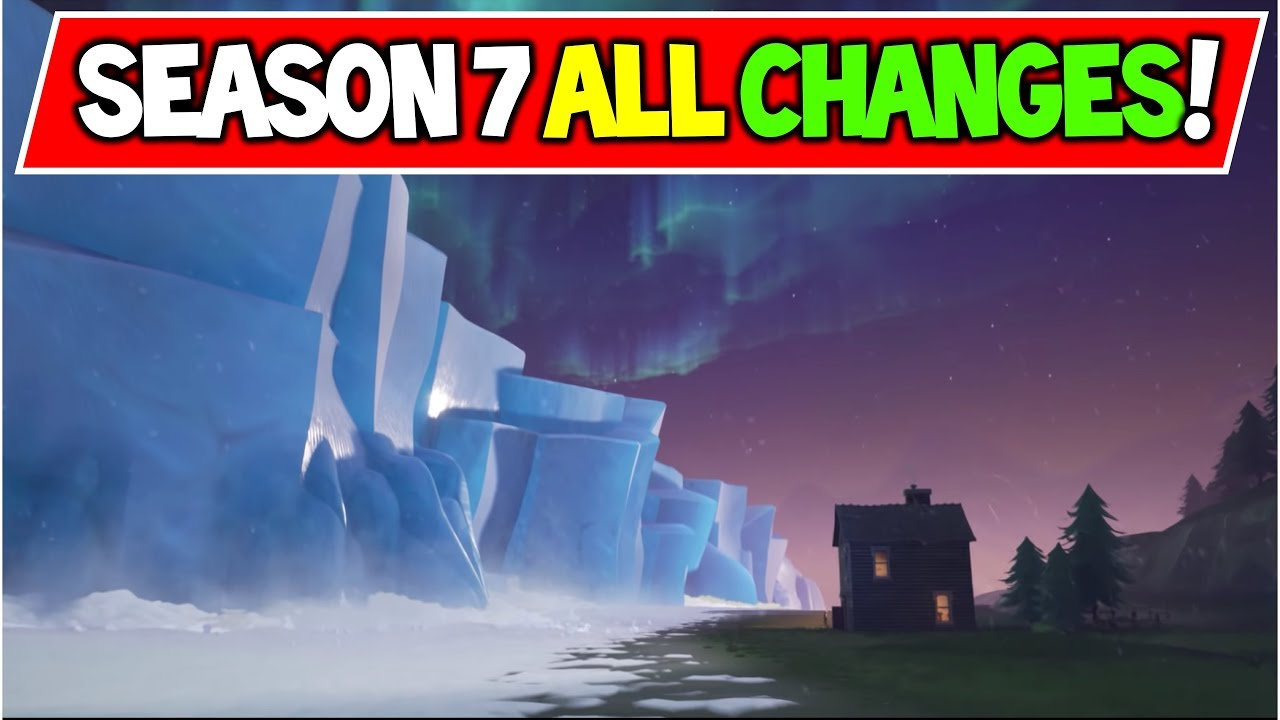 New Fortnite Season 7 All Changes Map Changes Vaulted Items
