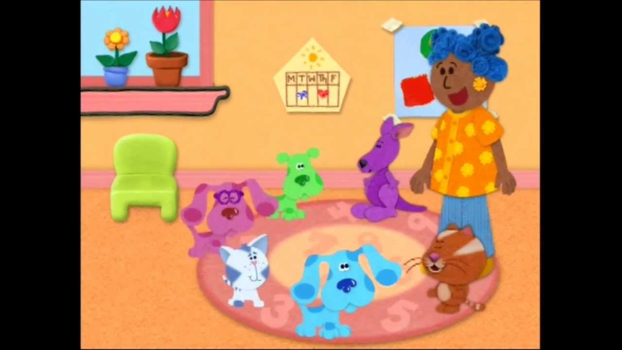 Blue S Clues Blue S Big Car Trip Vimeo