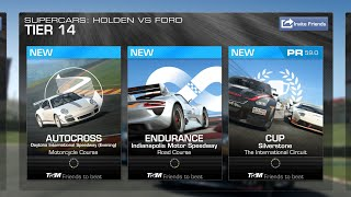 Real Racing 3 Supercars: Holden vs Ford Tier 14 (PR 59.0)