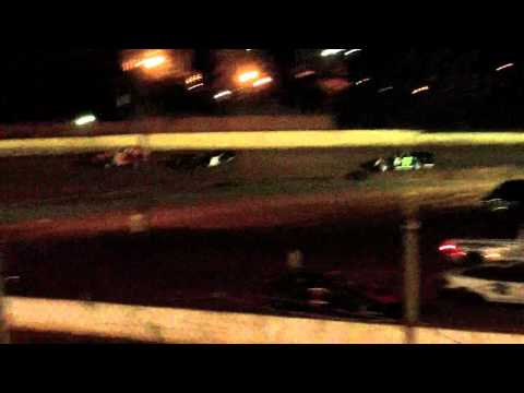 lake cumberland speedway 10 21 11 open wheel heat 2 part 3