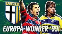 Buffon, Fabio Cannavaro, Hernan Crespo! Wie der AC Parma 98/99 den Uefa Cup dominierte!