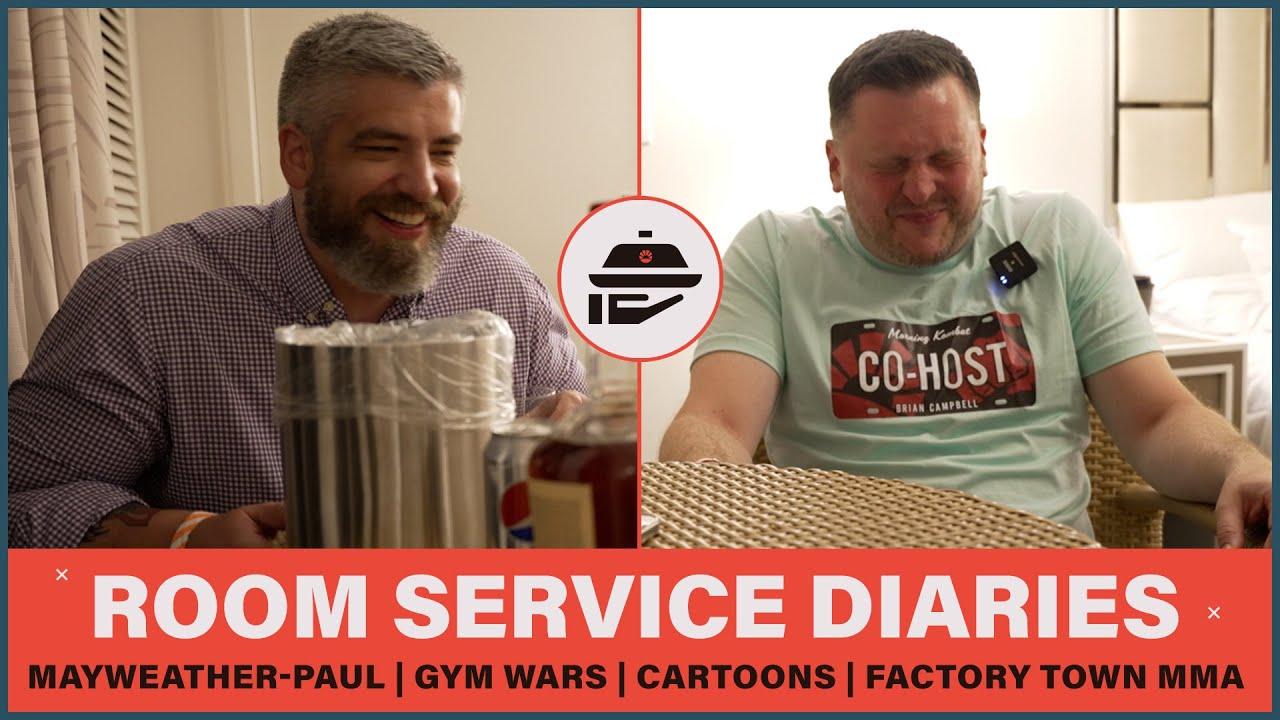 Room Service Diaries: Bad Dates | Gym Wars | Cartoons | Morning Kombat
