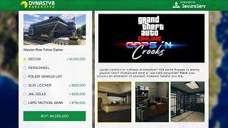 """GTA 5 Online """"Police/Cops"""" DLC Update - NEW Properties! Release Date Confirmed, Trailer & MORE!"""