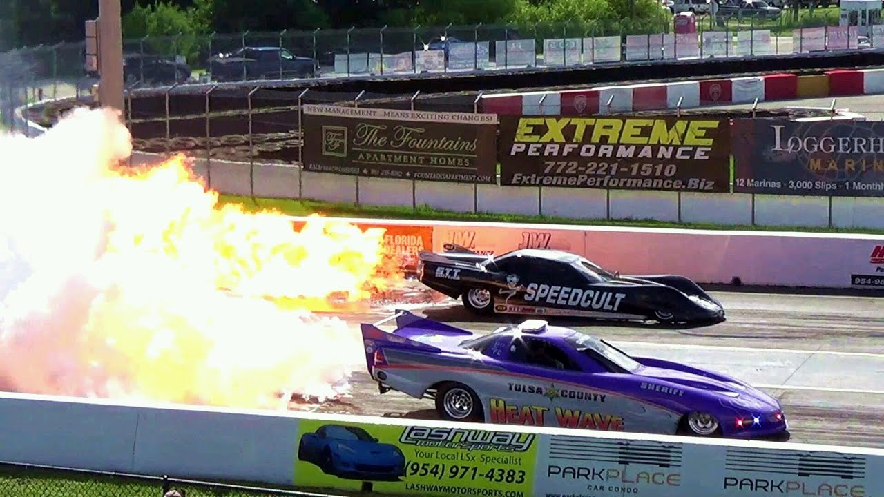 Jet Cars Drag Racing Crashes