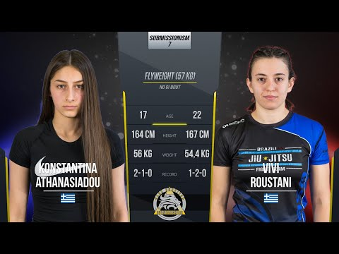 Submissionism 7: Konstantina Athanasiadou vs. Vivi Roustani Full Fight