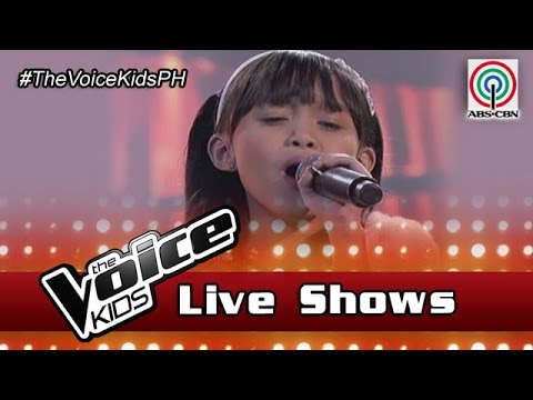 """The Voice Kids Philippines 2016 Live Semi-Finals: """"A Moment Like This"""" by Yessha"""