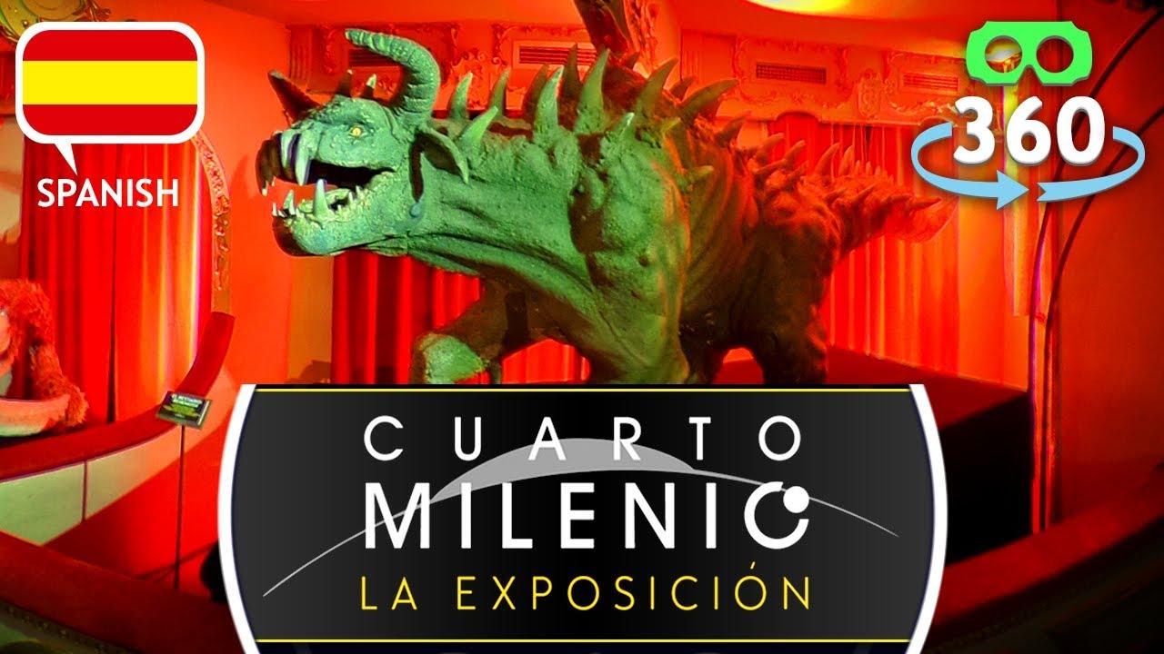 Cuarto Milenio La Exposición - Criptozona 360º 4K Realidad Virtual ...