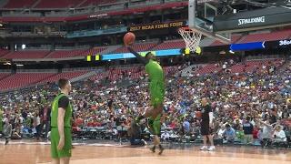 Oregon men's basketball turns Final Four open practice into dunkfest