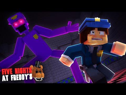 Minecraft: FIVE NIGHTS AT FREDDY'S #118 -PURPLE GUY GIGANTE!!