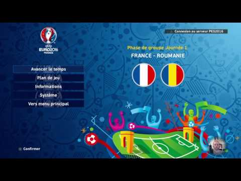 [FR] - Euro 2016 avec l'EDF des Blessés/Bannis/Oubliés - Full Manual - Superstar - PES 2016