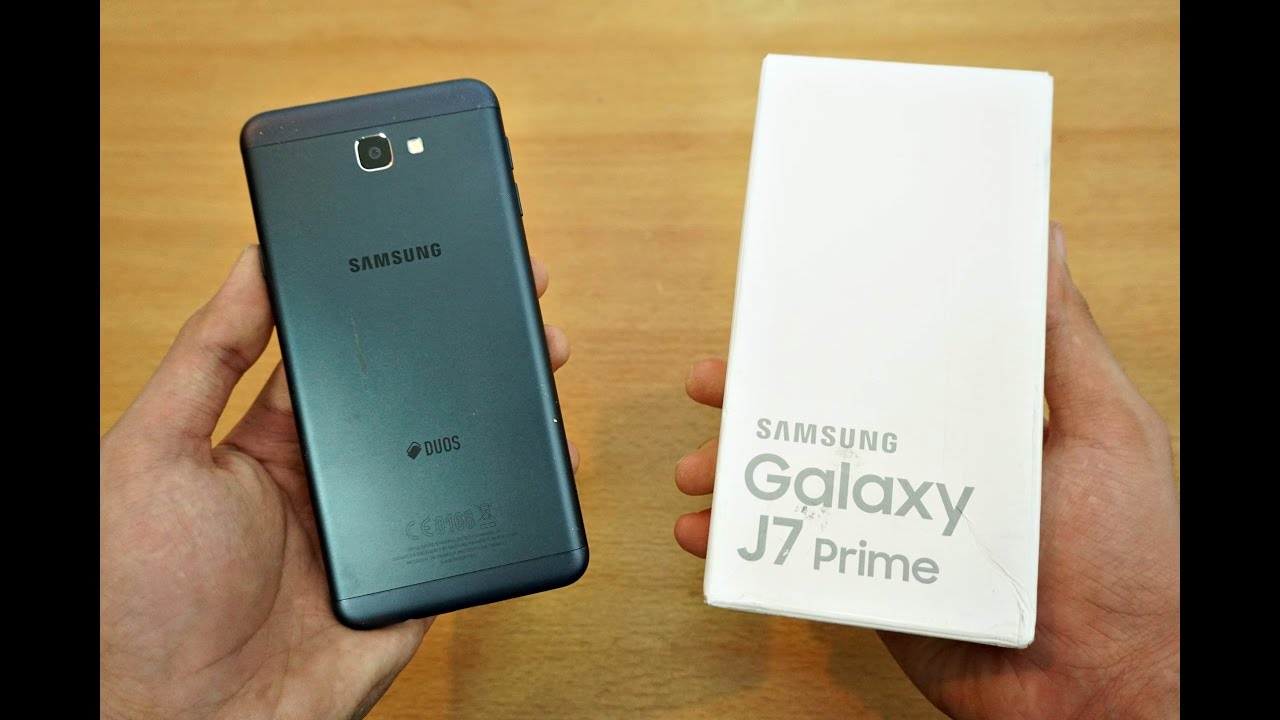 Samsung Galaxy J7 Prime Unboxing Setup First Look 4k Youtube