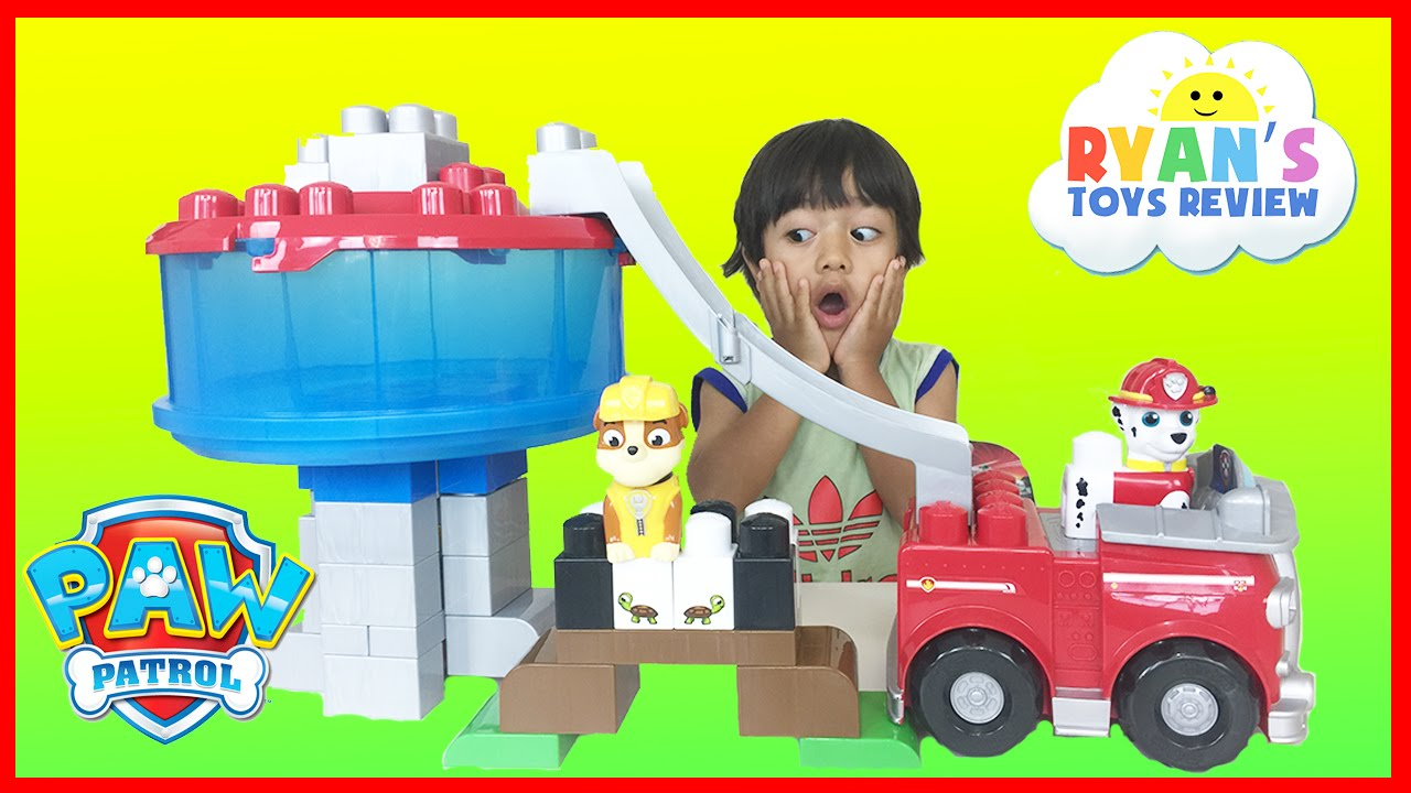 Download Ryan plays Paw Patrol Toys Ionix Jr. Tower Block Set The Lookout