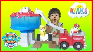 paw patrol toys ionix jr tower block set the lookout turtle rescue rubble ryan toysreview