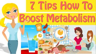 How To Boost Metaḃolism 7 Tips How To Increase Metabolism