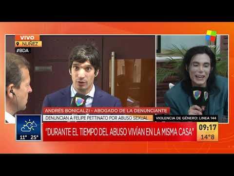 Felipe Pettinato fue denunciado por abuso sexual a una menor