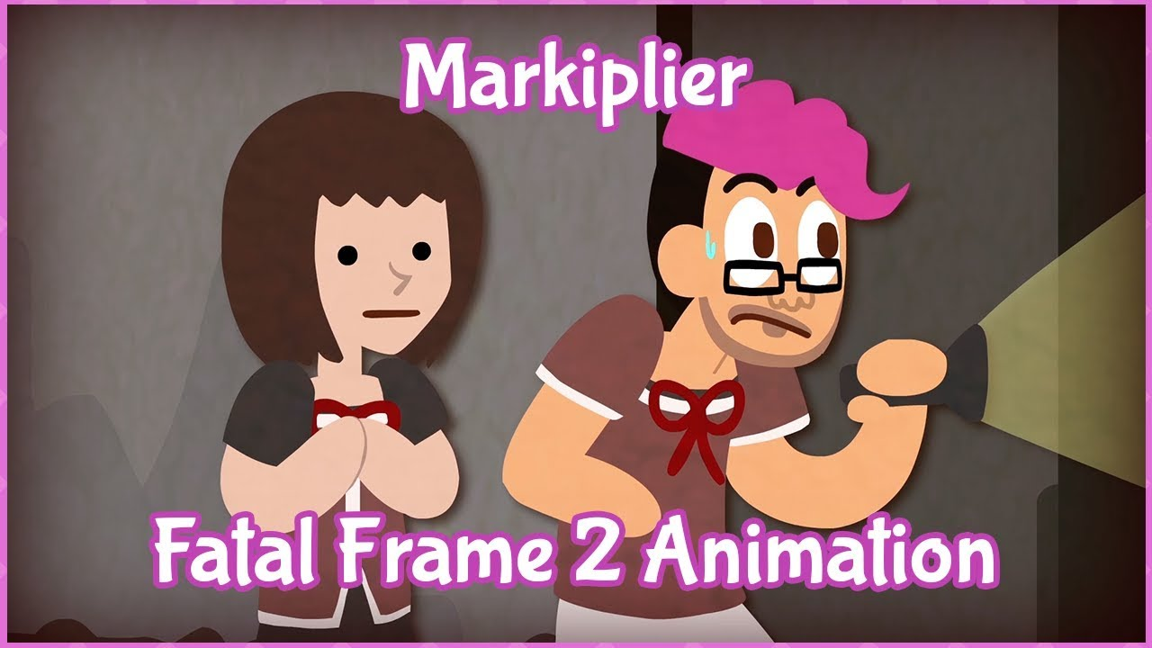 Markiplier Animated - Fatal Frame 2 / STOP BEING CREEPY ... Markiplier Animated
