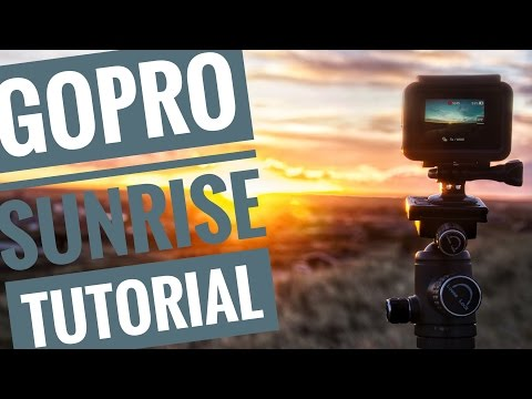 How to film GoPro SUNRISE Timelapses - Tutorial