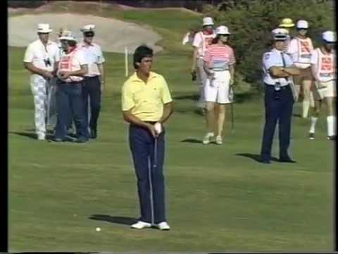 1984 Australian Open Golf won by Tom Watson | ABC TV | Royal Melbourne Golf Club