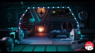 Guardians' Spaceship Fireside Video in 4K