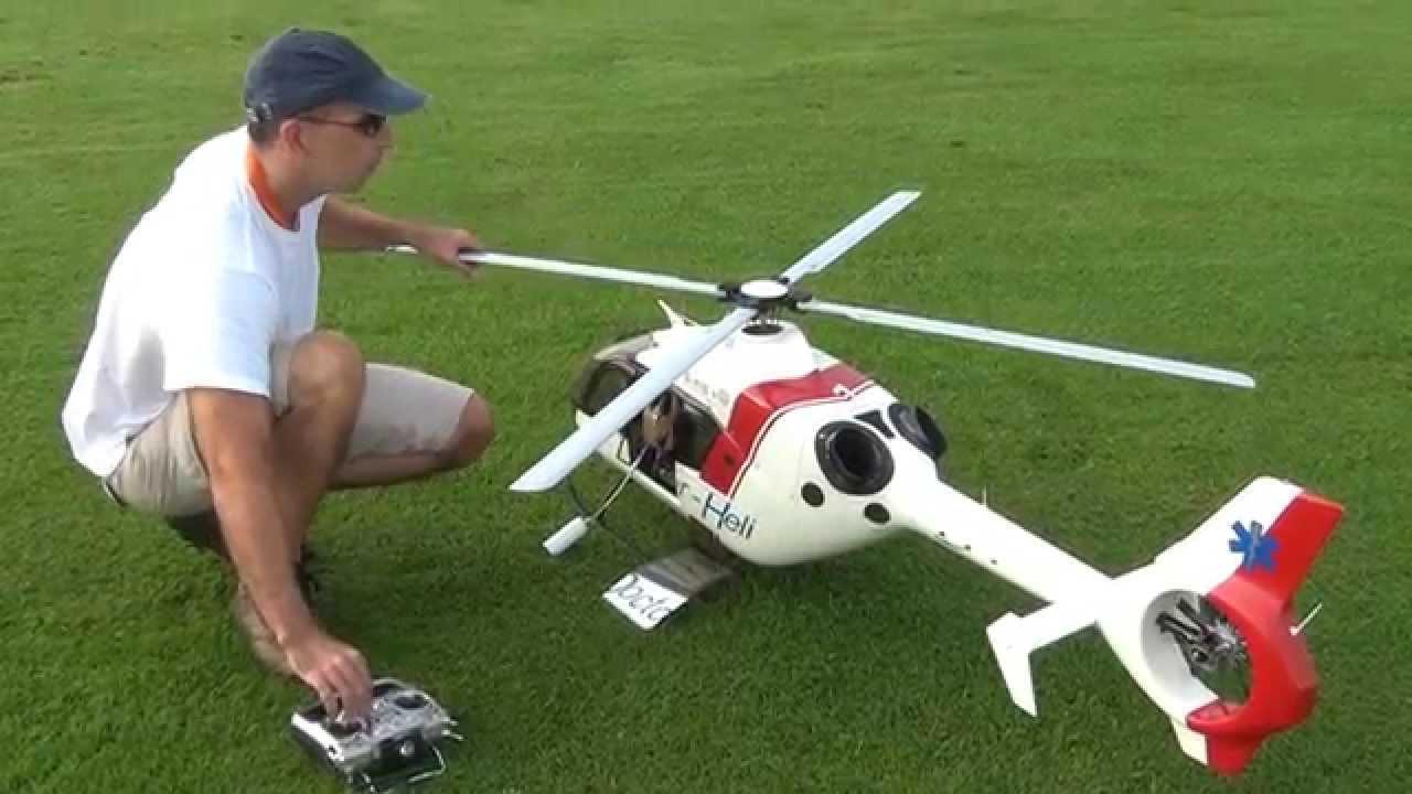 Ferngesteuertes Airbus EC 135 Eurocopter  3 Kanal Helikopter