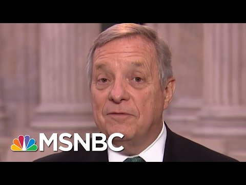 Full Durbin: Border Wall 'A 19th Century Solution To A 21st Century Challenge' | MTP Daily | MSNBC