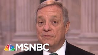 Full Durbin: Border Wall 'A 19th Century Solution To A 21st Century Challenge' | MTP Daily | MSNBC thumbnail