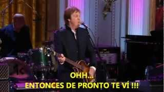 Paul McCartney- Got To Get You Into My Life (Subtitulada Español) HD (Live White House: 2010)