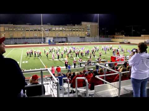 Hazleton Area High School Marching Cougar Band: KA Field Show (Performance 2)