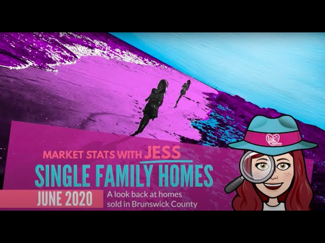 Brunswick County Single Family Homes Market Update - June 2020