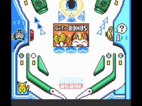 Pokemon Pinball (GBC) - Gameplay - YouTube