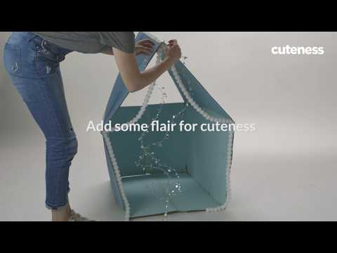How To Build An Adorable Collapsible Cat House