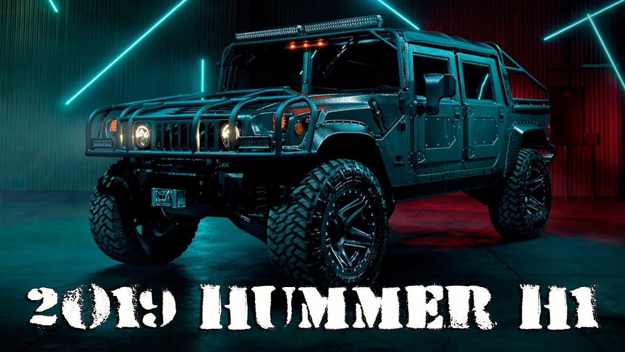 2019 Hummer H1 Price, Concept, Specs >> Am General 2019 Hummer H1 Launch Edition By Msa