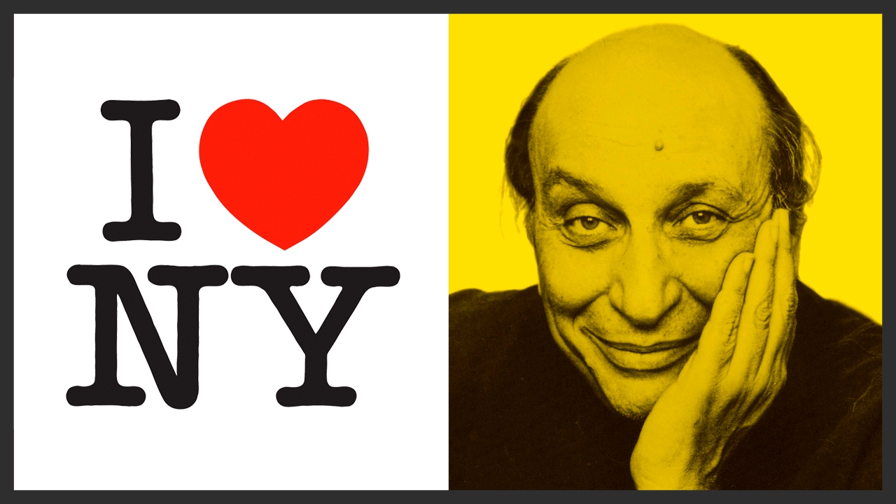 Milton Glaser, graphic designer who put heart in 'I love New York ...