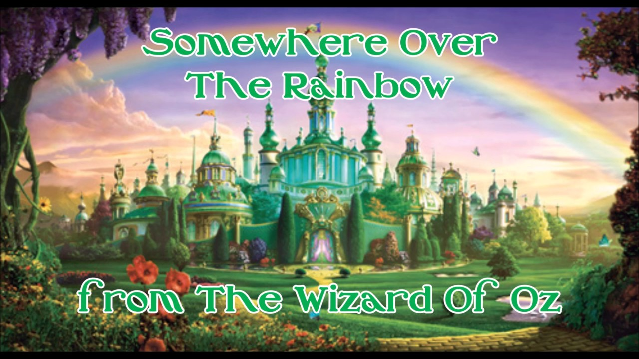Somewhere Over The Rainbow - Piano Backing Track