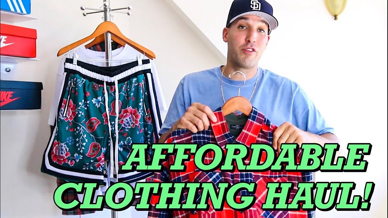 AFFORDABLE SUMMER CLOTHING HAUL! STREETWEAR FOR CHEAP 2