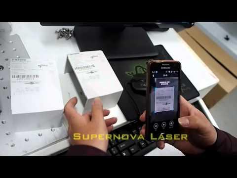 Barcode numbering printing machine
